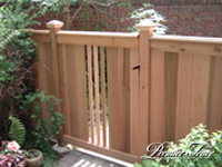 Wood-Privacy-Fence-Glenhill-Custom-Gate