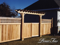Click to go to Special Applications for Wood Fencing by Premier
