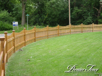 Wood-Picket-Fence-Circle