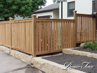Wood-Privacy-Fence-Framed